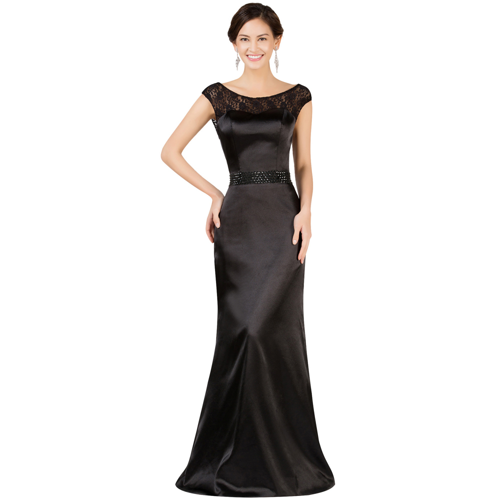 High Quality Long Black Gowns-Buy Cheap Long Black Gowns lots from ...