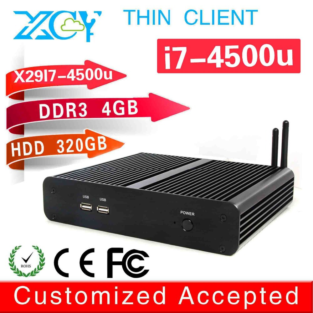 Commercial computer x86 mini htpc XCY X-29 4500u mini pc windows 8 quad core  support MIC motherboard for tablet pc support wifi<br>