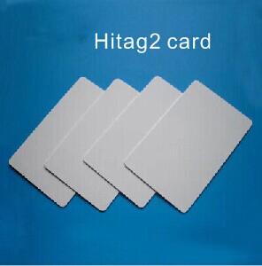Free shipping 100pcs/lot ID chip RFID 125KHz blank card Thin PVC ID Smart Card(China (Mainland))