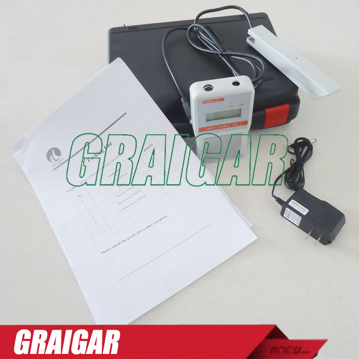 PGas-24 CO2+NH3 Gas detector carbon dioxide and ammonia portable Gas Tester Fast Shipping<br><br>Aliexpress