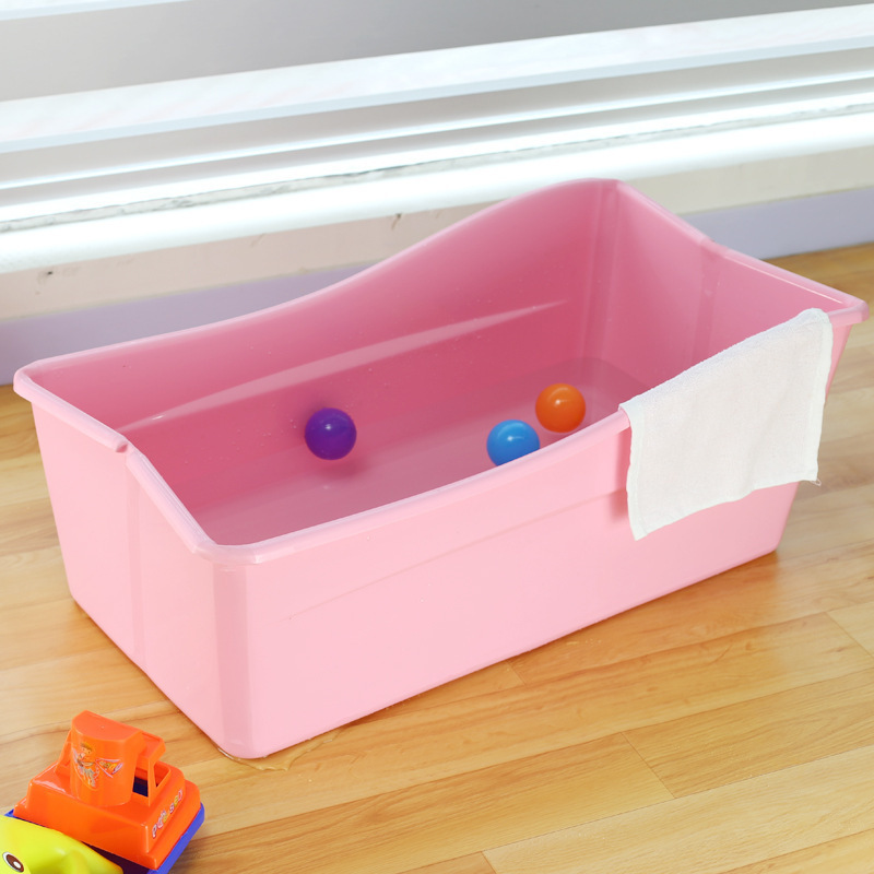 large plastic baby bath tub luxury foldable kids bathtub in inflatable. Black Bedroom Furniture Sets. Home Design Ideas
