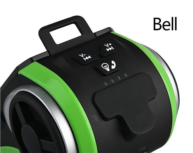 Bike Audio Speaker Mp3 with Bicycle Bell/LED Lamp/Phone Bracket