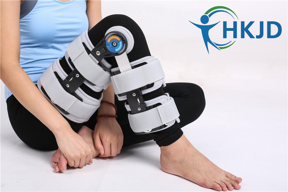 Adjustable Knee Brace Adjustable Knee Joint Adjustable Hinged knee Brace Adjustable Knee Support HK-D002(China (Mainland))