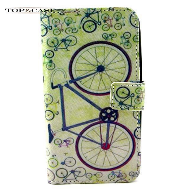 Flip Leather Mobile Phone Bag Case Accessories For samsung 9600 Battery Back Cover Luxury SJ5192