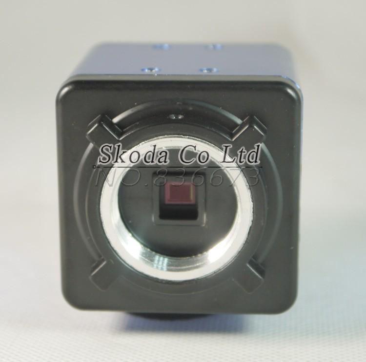 Купить 2-МЕГАПИКСЕЛЬНАЯ HD Цифровые Промышленные Микроскоп для Промышленности Лаборатории VGA видео Выход + 130X C-mount Объектив + 56 ПРИВЕЛО Световое кольцо + стенд