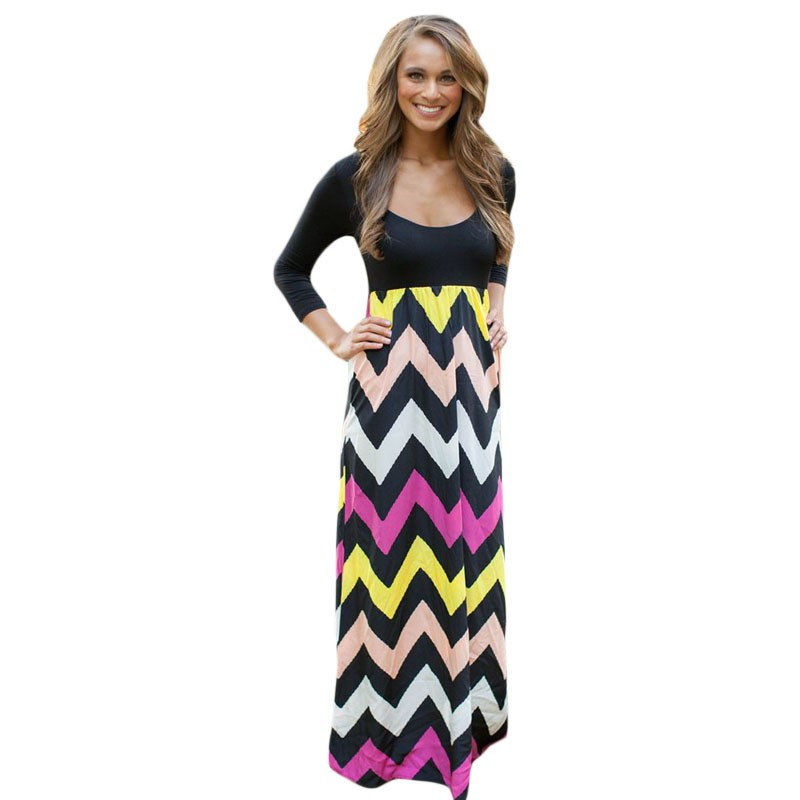 Maxi dress length for 5 3