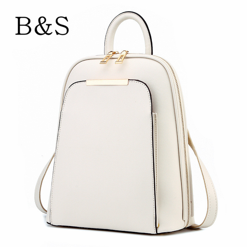 Fashion Simple Style Women Backpacks High Quality Leather School Bags Satchel Brand Design Female Backpack Sport Rucksack Youth(China (Mainland))
