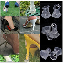 1Pair High Stiletto Heel Protector Latin Dancing Shoes Cover Stoppers Antislip Heel Protectors for Bridal Wedding Party PA678964(China (Mainland))