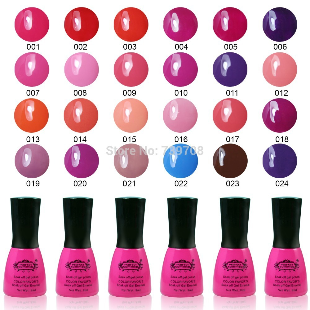 2015 Rushed Brand Nail Gel Choose 6 From Cristina ...