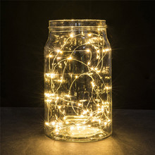 Buy 2M 20LED Button Cell Powered Silver Copper Wire Mini Fairy String Lights free wholesale A3 for $1.37 in AliExpress store