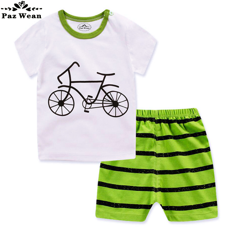 Baby boy summer Clothes Set Outfit T-shirt Dress Children's Clothing Toddler Baby Shorts Set Summer Suit for boys 1 2 3 Years(China (Mainland))