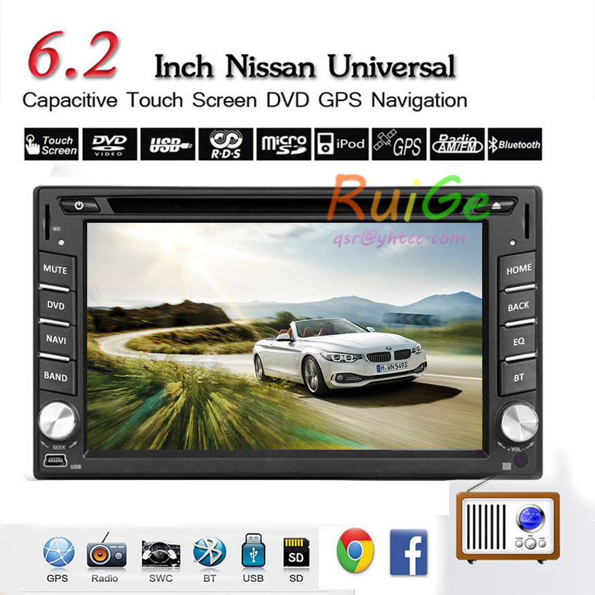 GPS Navi Double 2Din In Dash android Car Stereo DVD Player Radio BT HD LCD USB/SD Car GPS stereo video +3G Internet feature()