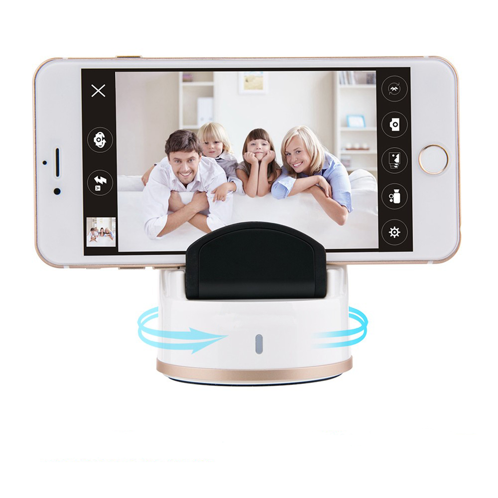 Portable 360 Degree Auto Face Tracking Selfie Robot 360 Degree Rotaing For Selfie Timer Party Family Gathering