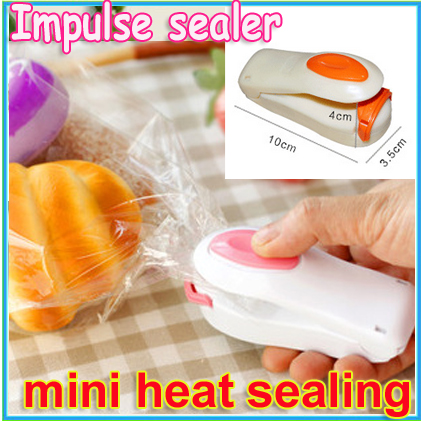 1pcs Super sealer for plastic bag Mini food Electric sealing machine Kitchen accessories Novelty households Travel Essentials(China (Mainland))