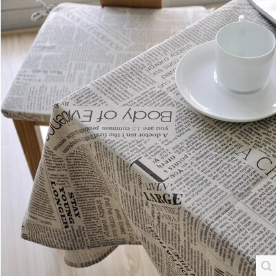 Cotton cloth computer rectangular circular table cloth trade retro can be customized table tablecloth cover towels(China (Mainland))