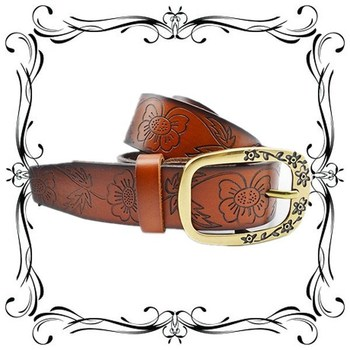 2013 New Arrival Genuine Leather Chinese Style Belts