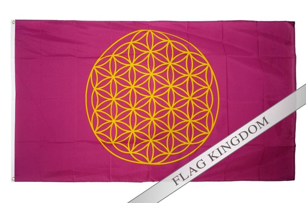 Banner Flags Flower of Lebens Flag 90x150cm(China (Mainland))
