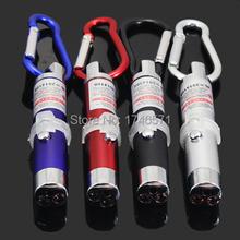 1 шт. из светодиодов лазер 3 в 1 мини-красный лазерная указка 2 из светодиодов фонарик уф факел с брелок