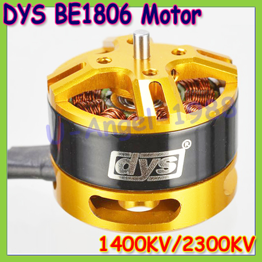 Wholesale 4pcs/lot DYS BE1806 2-3S 2300KV/1400KV  Brushless Motor For Mini Multicopters RC Plane Helicopter+Free shipping<br><br>Aliexpress