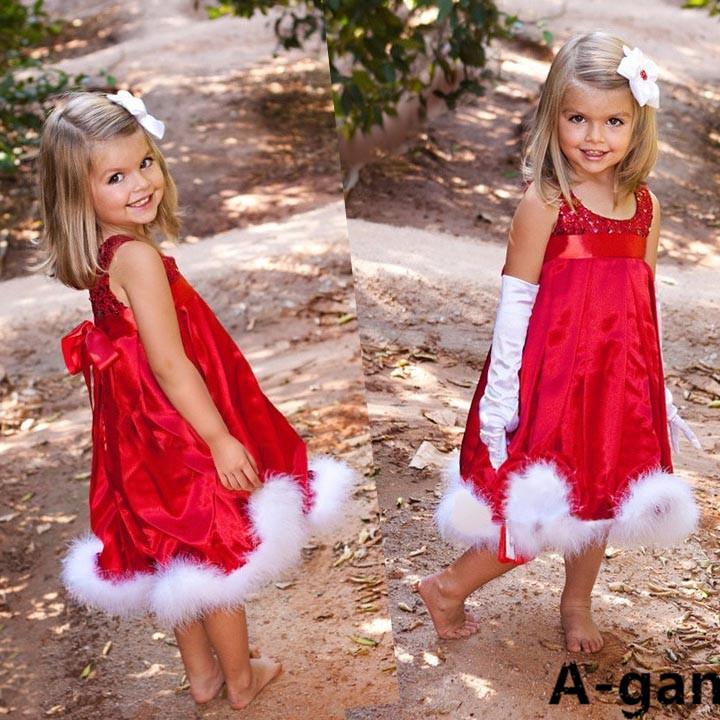 Hot sale new dress christmas gift princess baby