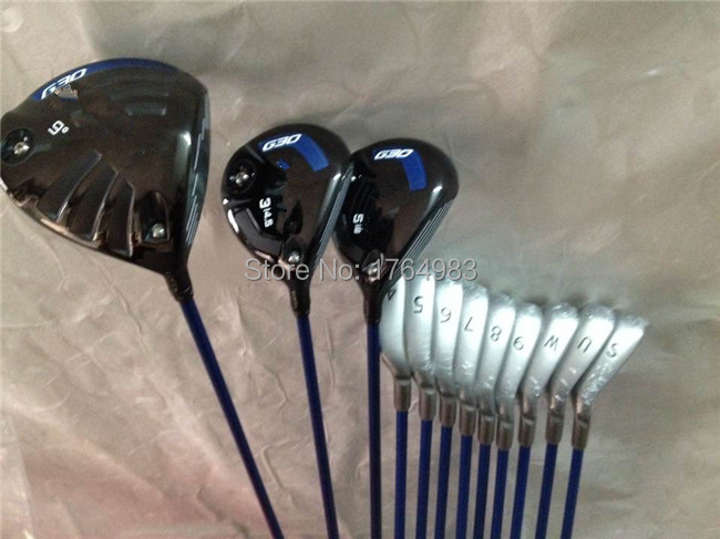 G30 Full Set Golf Clubs OEM Driver + Fairways Irons Regular&Stiff Flex Shaft Come Head Cover - Leisures store