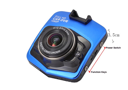 Free shipping Car Dvr Camera Dash Cam Full HD 1080p Parking Video Recorder Vehicle Black Box Night Vision(China (Mainland))