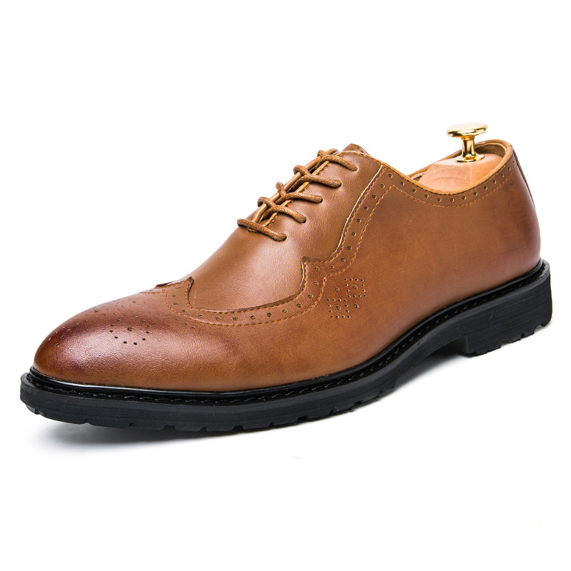 brown wingtip shoes for promotion shop for promotional