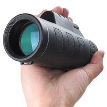 AOMEKIE 18X62 HD Monocular Telescope Optics Glass Protable Outdoor Camping Hunting High Power Spotting Scope Multi-coated Lens