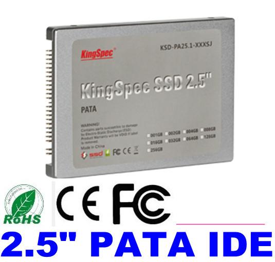 "50% OFF Kingspec 2.5"" 44PIN PATA IDE SSD 8GB 16GB 32GB 64GB 128GB Solid State Disk Flash Drive Computer SSD Hard Drive Laptops(China (Mainland))"