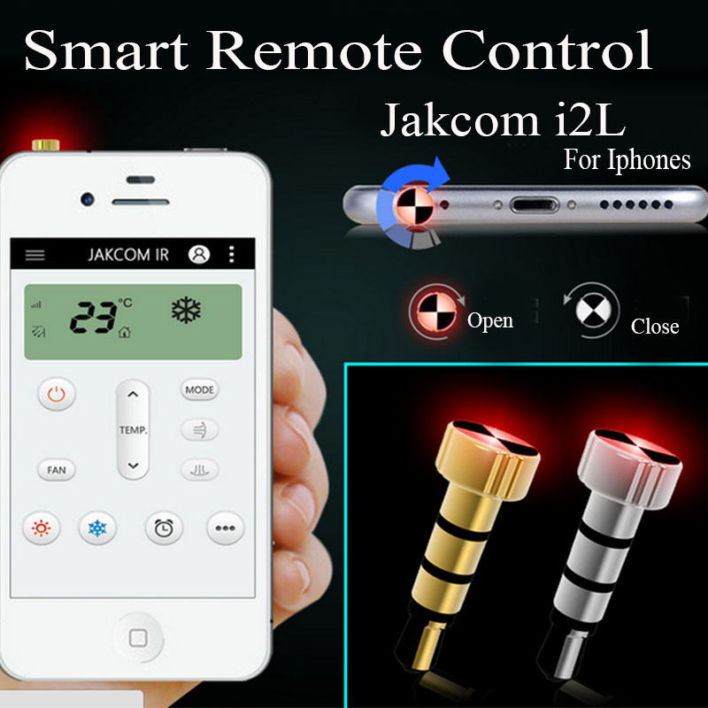 JAKCOM Universal Smart Remote Control Cell Phone Anti-Dust Gadgets Pluggy Dust Plug For IOS and Android Mobile phones(China (Mainland))
