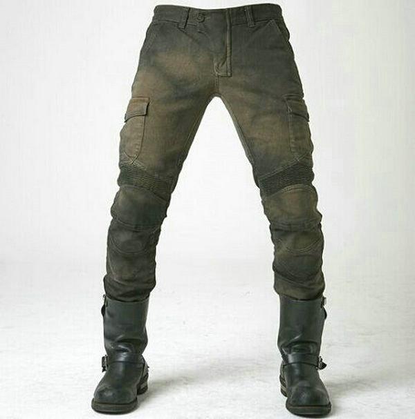 Купить UglyBROS motorpool ubs06 джинсы Досуг джинсы мотоцикле мотоцикл брюки защиты локомотива army green