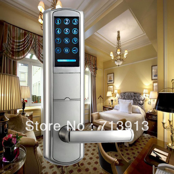 Intelligent LED touch screen Keypad PIN code door lock ET916pw(China (Mainland))