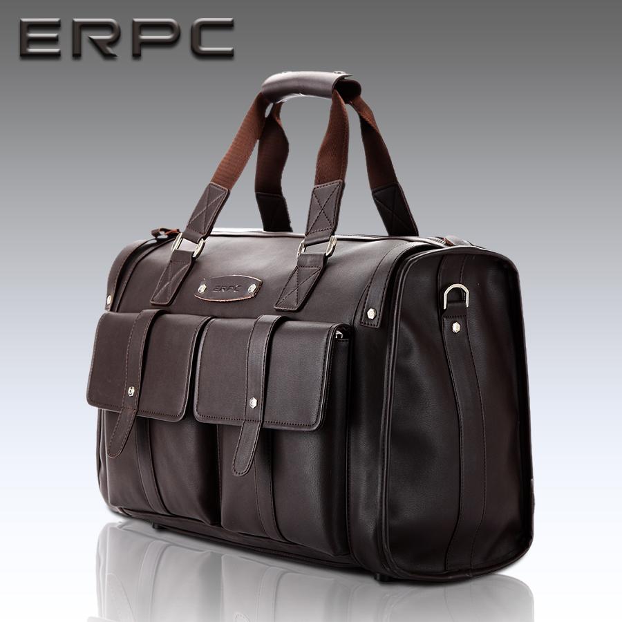 Free shipping 2015 business casual mens big bags fashion carry on luggage travel duffel bags duffle men handbags items TB39(China (Mainland))