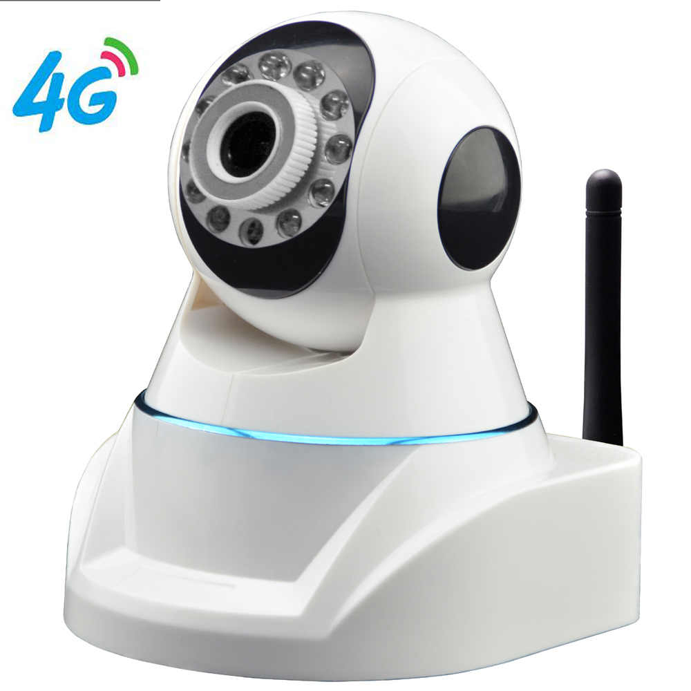 4G Mobile PTZ HD IP Camera with HD 720P Video Transmission via 4G LTE Network & Cloud Server for Remote Recording