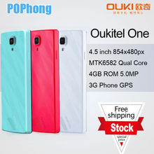 J Original O901 3G Phone 4.5 inch 480x854px RAM 1M ROM 8G MTK6582 Quad Core 5.0MP Dual Sim Android Smartphone