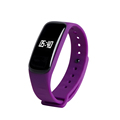 New C1 Smart Bracelet Bluetooth Heart Rate Blood Pressure Oxygen Monitor Health Smartband Activity Tracker Pedometer