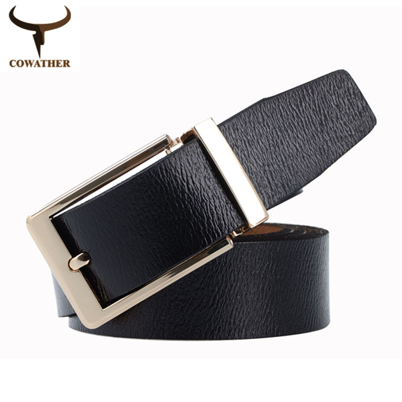 2015 nice quality cow genuine vintage leather men belts for men,fashion strap male pin buckle,cinto masculino free shipping(China (Mainland))