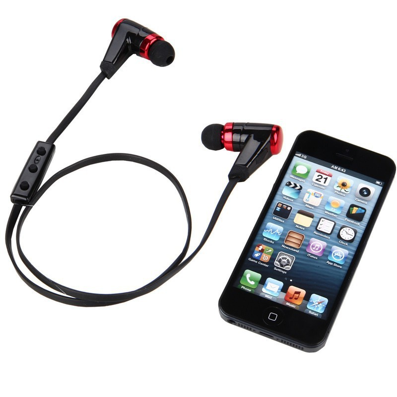HV 805 Wireless Music A2dp Stereo Auriculares Bluetooth Headset Vibration Neckband Headphone For
