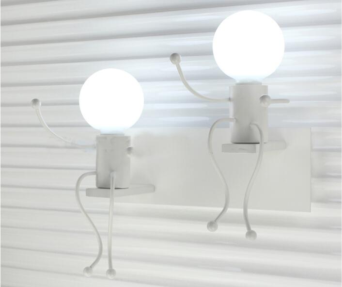 Wall Light Modern Creative Ants Iron Lamps Corridor Aisle