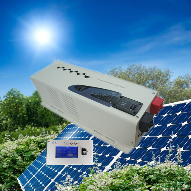 CE,ROHS,ISO9001,GMC approved dc24v to ac 230v power inverter 4000w low frequency ice cream inverter(China (Mainland))