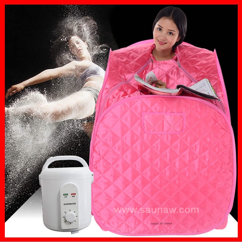 Portable steam sauna, stress relief, overal health conditioning, hot figure maintenance portable sauna room cabin foldable(China (Mainland))