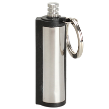 High Quality Emergency Fire Starter Flint Match Lighter Cylinder Outdoor Survival Tool Free Shipping