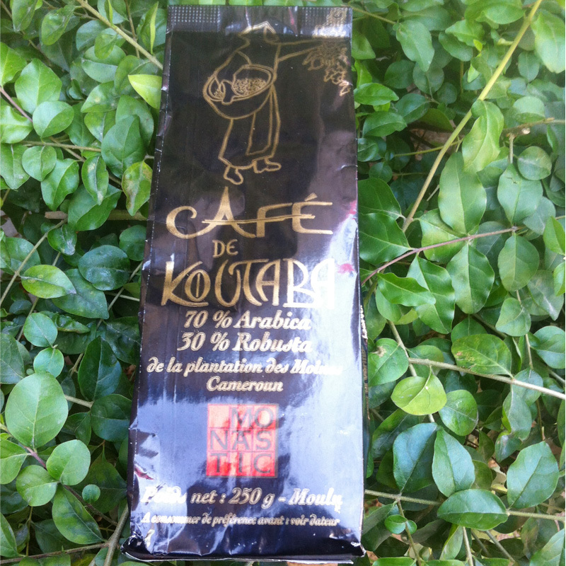Imported from Cameroon black coffee without sugar 500 g of pure coffee powder free shipping