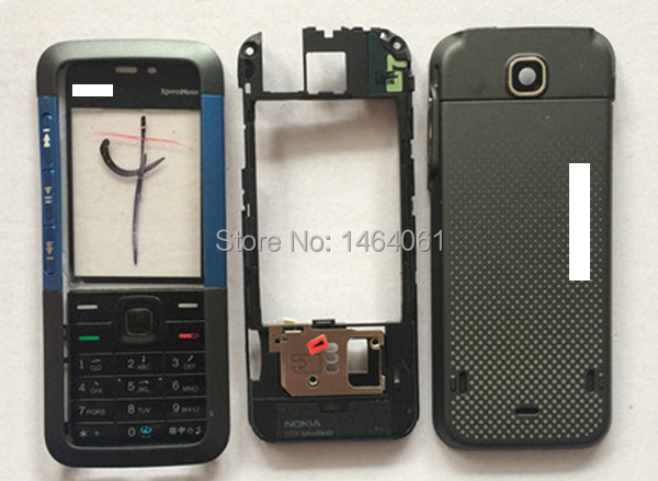 wholesale 5pcs replacement mobile phone full housing for NOKIA 5310XM, Cover for NOKIA 5310XM(China (Mainland))