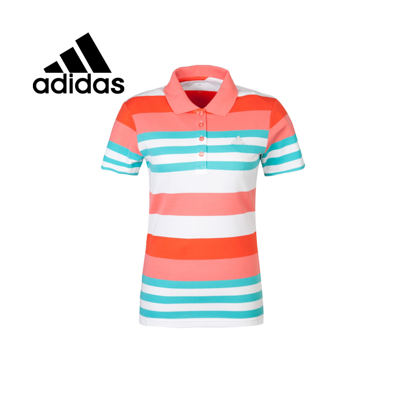 100% Original 2015 New Adidas womens POLO shirt S09660/S09661 Sportswear free shipping<br><br>Aliexpress