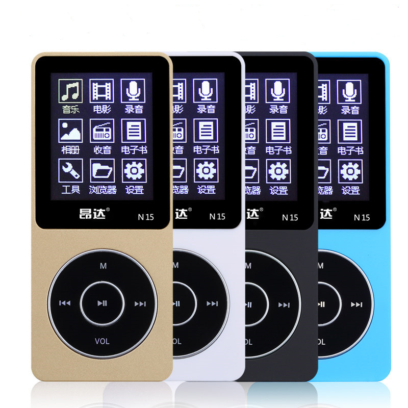 2015 Latest Ultrathin 8GB MP3 Player with 1.8 Inch Screen can play 80h, Original Onda N15 Mp3 With FM,E-Book,Clock,Data(China (Mainland))