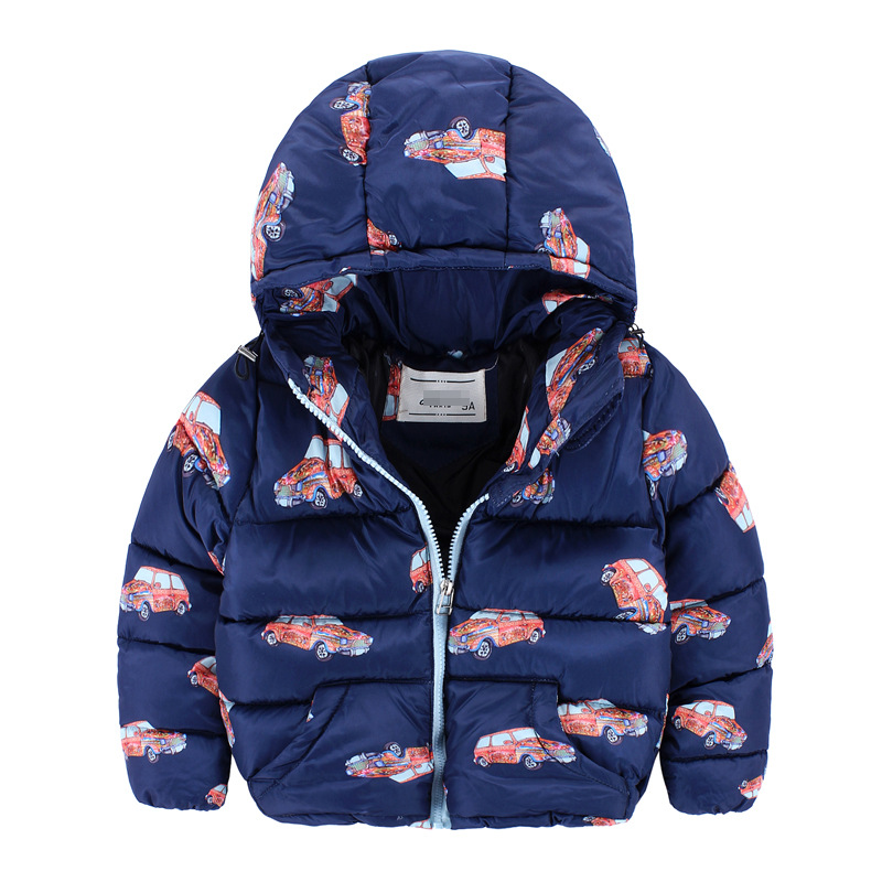 Здесь можно купить  3 color boys baby clothing Hooded coat Thickening warm children