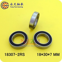 Buy Bearing 18307 6903/18-2RS 18*30*7 Bicycle bearing Shielded Deep Groove Ball Bearings Single Row MR18307 ) for $1.50 in AliExpress store
