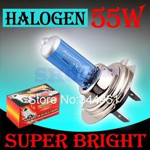 H7 55W 12V Halogen Bulb Super Xenon White Fog Lights High Power Car Headlight Lamp Car Light Source parking 6000K auto