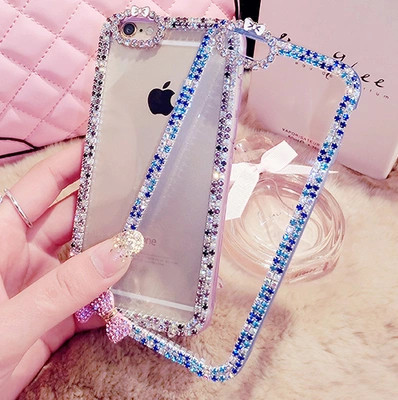 New Luxury Rhinestone Phone Case Cover For Samsung Galaxy S3 Galaxy S4 Galaxy S5 Case Diamond Bling Chain Mobile Phone Cover(China (Mainland))